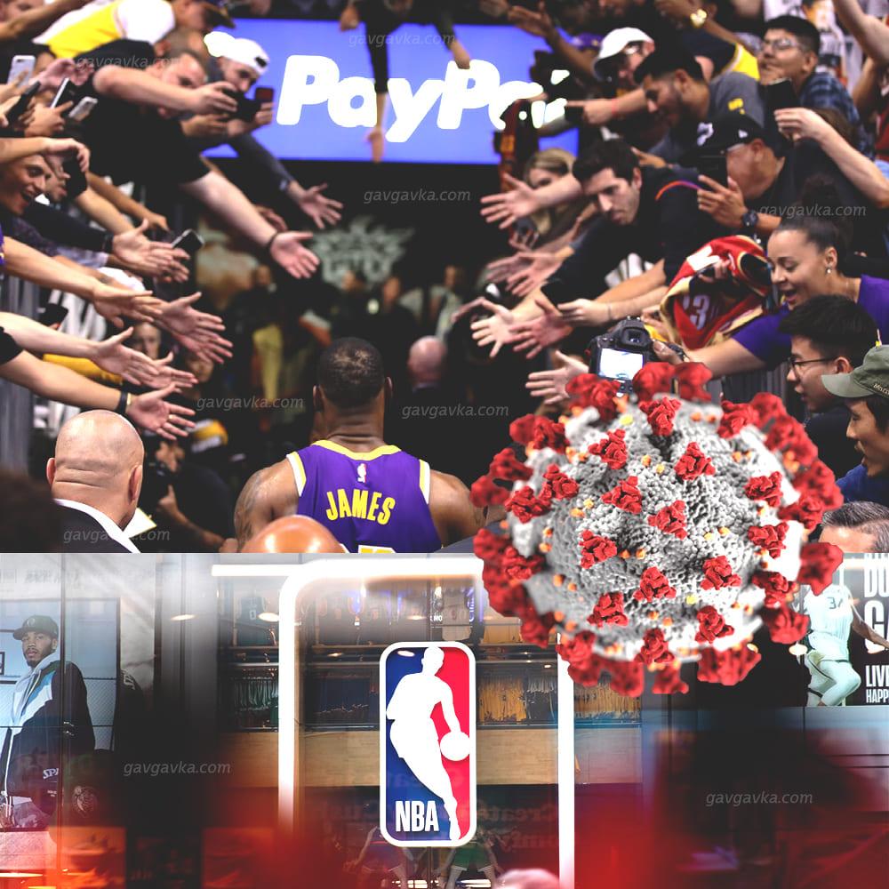 NBA กับ ดราม่าของ COVID-19